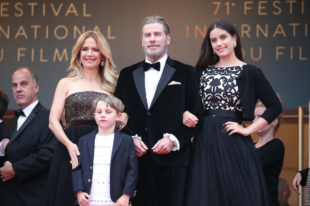 John Travolta and Kelly Preston's kids