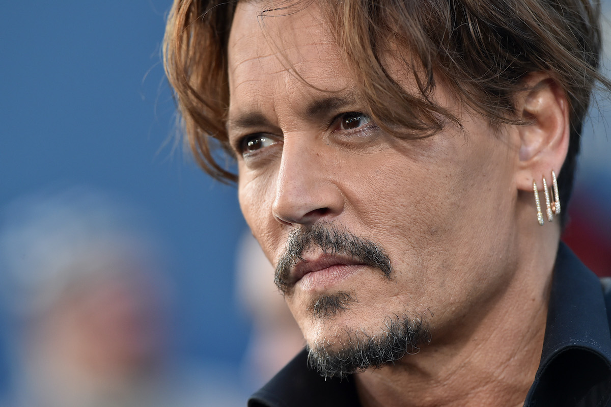 Johnny Depp arrives at the premiere of Disney's 'Pirates of the Caribbean: Dead Men Tell No Tales'