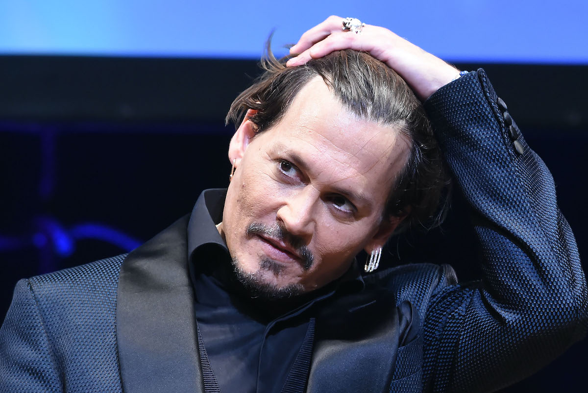 Johnny Depp at the Japanese premiere of 'Pirates of the Caribbean: Dead Men Tell No Tales'