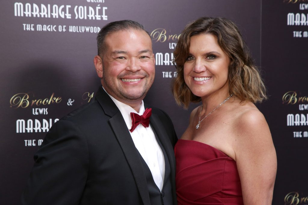 Jon Gosselin and Colleen Conrad attend Brooke & Mark's Marriage Soiree, 'The Magic Of Hollywood'