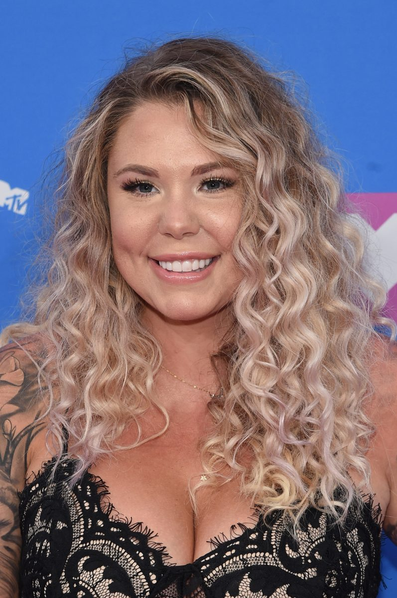 Kailyn Lowry at the MTV Video Music Awards