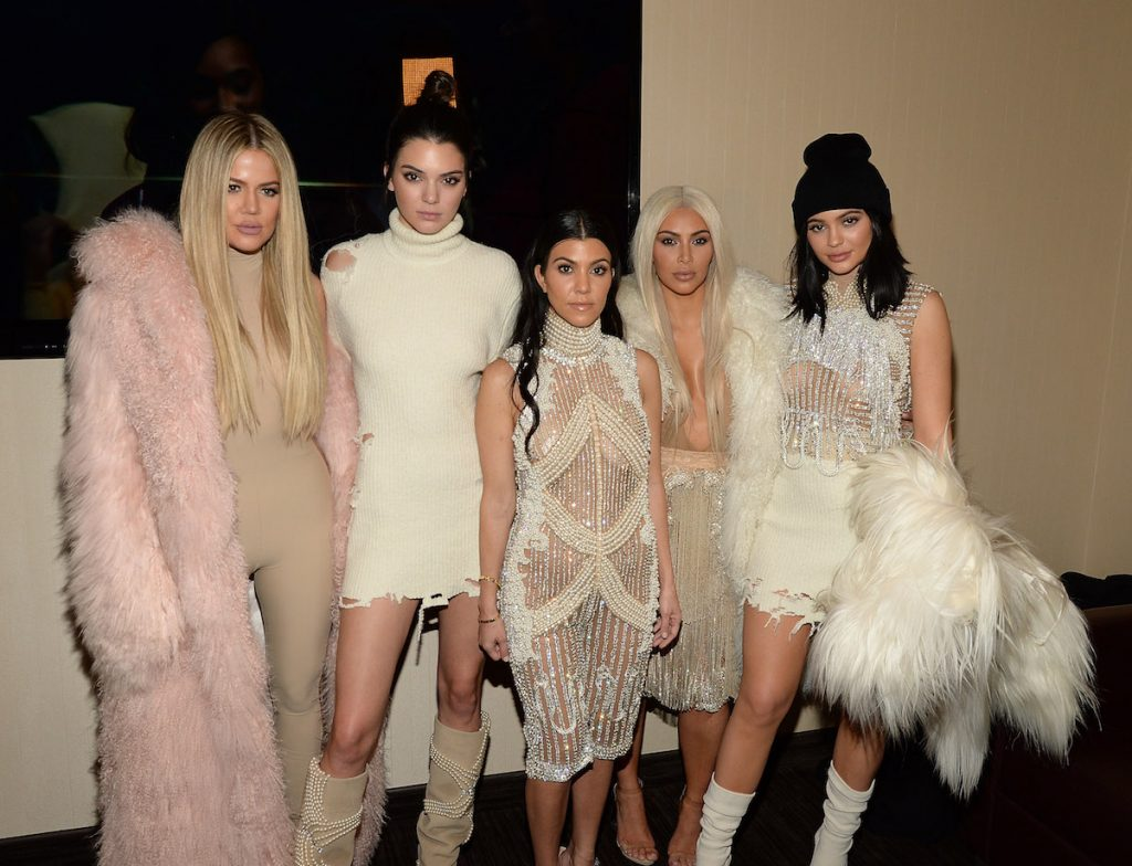 The Kardashian-Jenner daughters