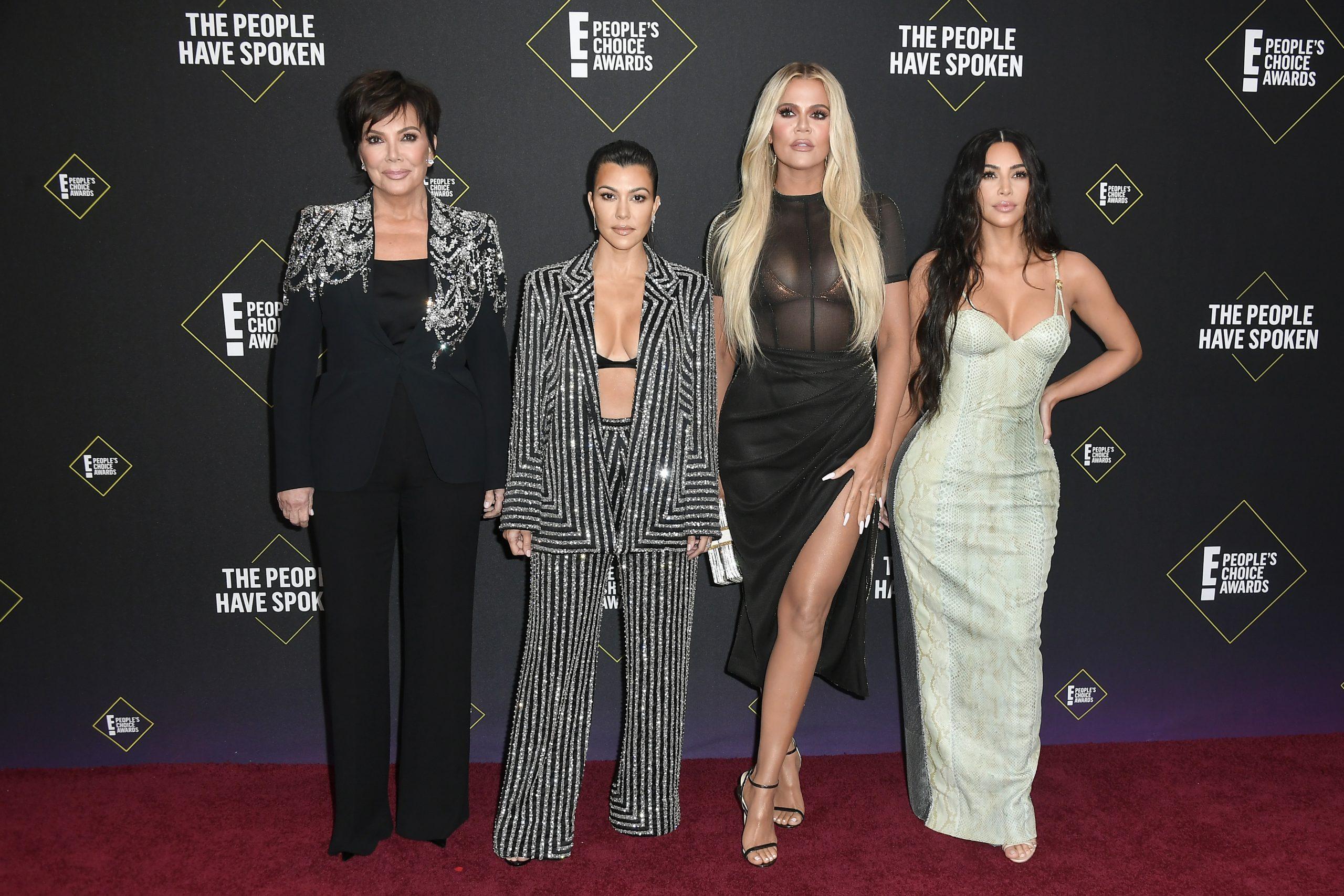 Kardashian sisters and Kris Jenner