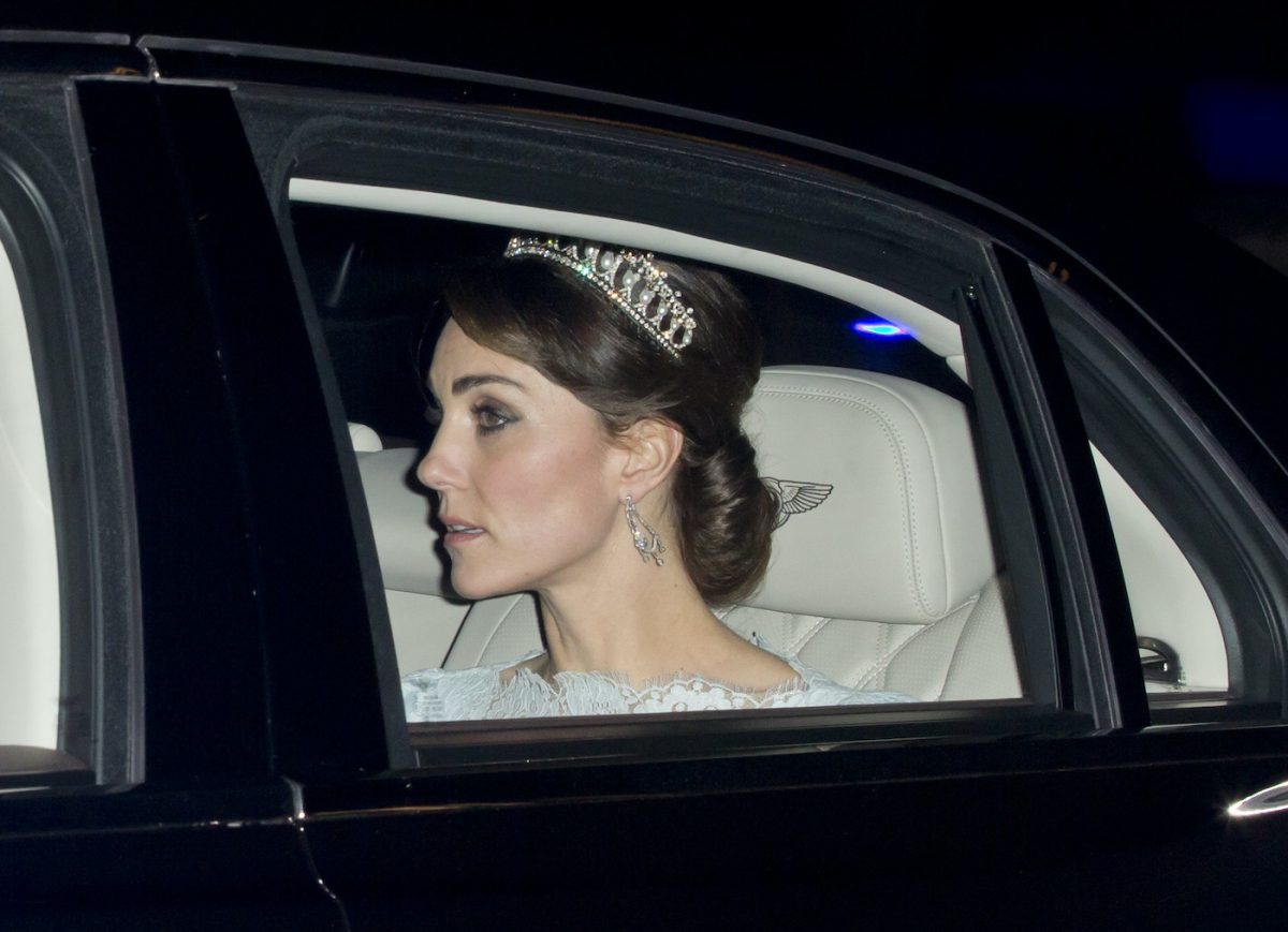 Kate Middleton attends 2015 Diplomatic Reception