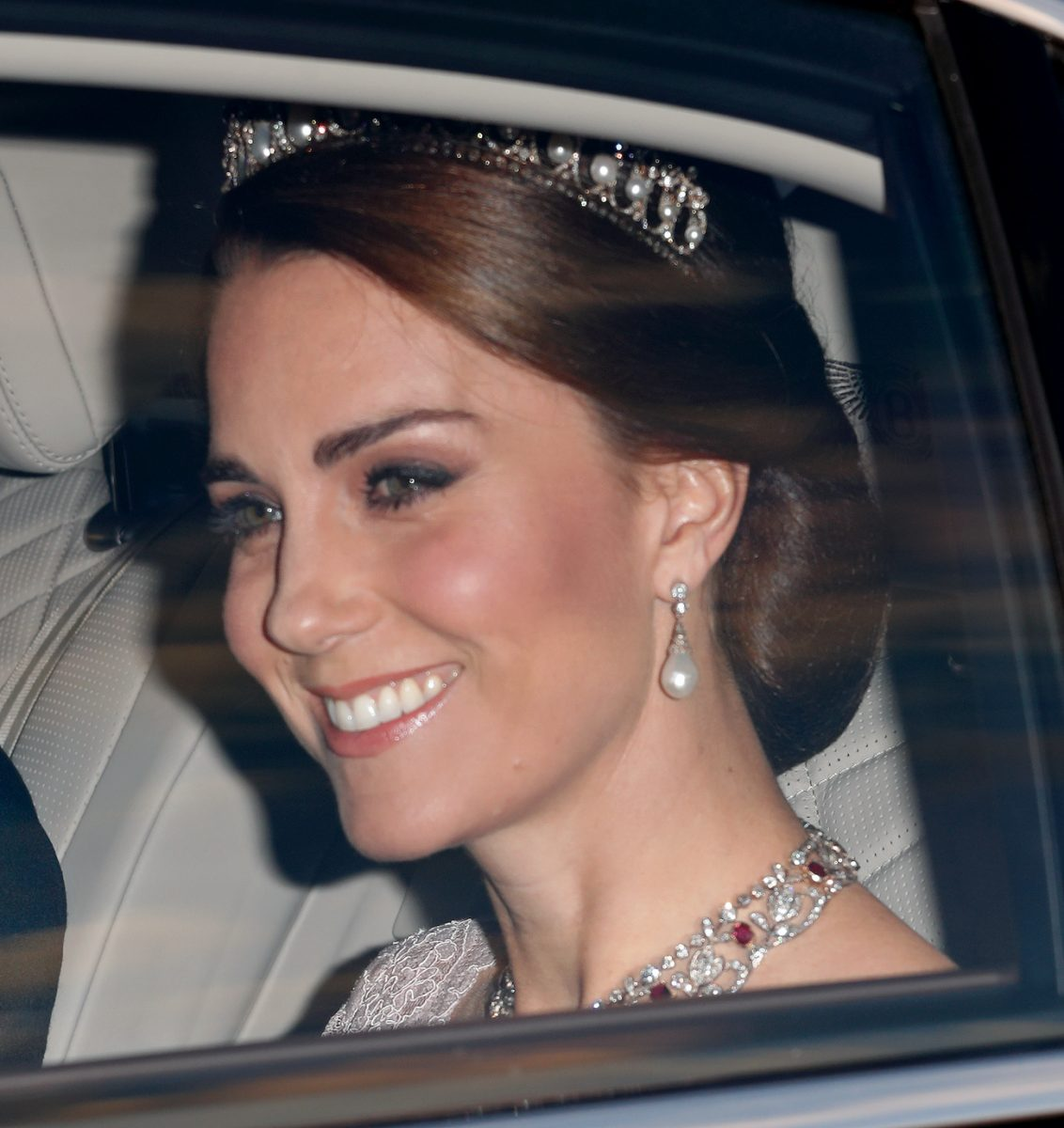 Kate Middleton attends 2017 state banquet
