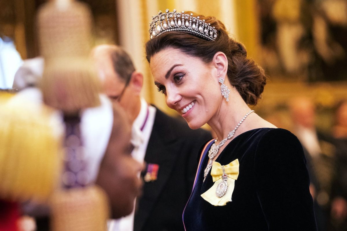 Kate Middleton attends 2019 Diplomatic Corps reception