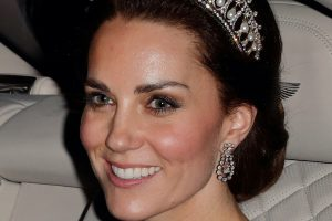 Who Designed Kate Middleton's Sheer Dress That Stole Prince William's Attention?