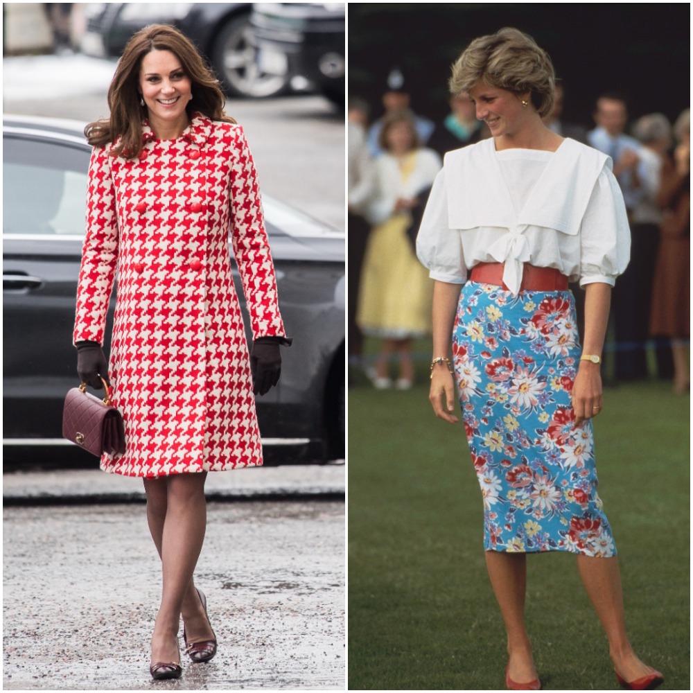 Kate Middleton; Princess Diana