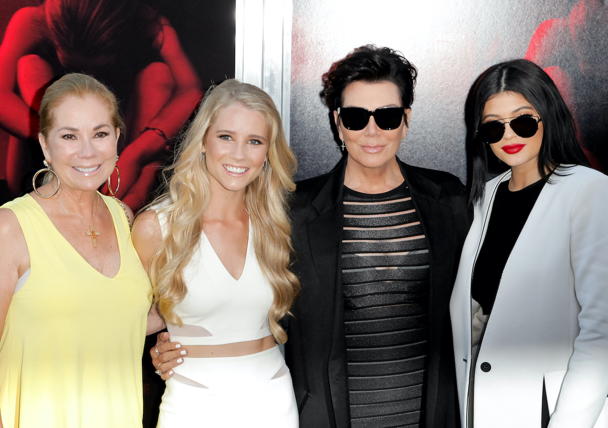 Kathie Lee Gifford, Kris Jenner, and Kylie Jenner