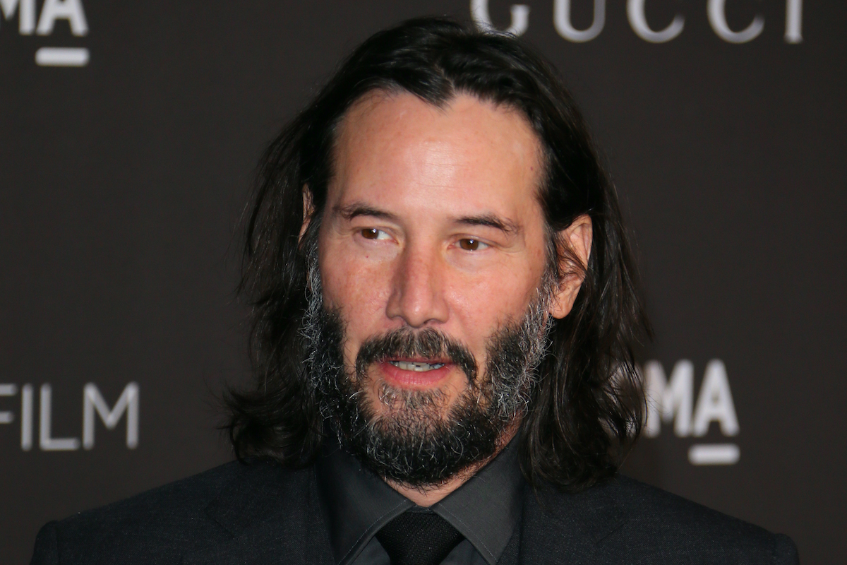 Keanu Reeves arrives for the 2019 LACMA Art+Film Gala