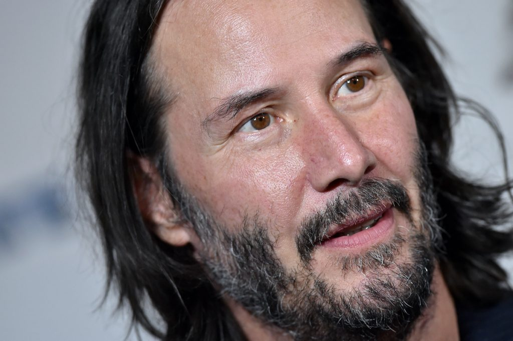 Keanu Reeves at a 'Semper Fi' screening