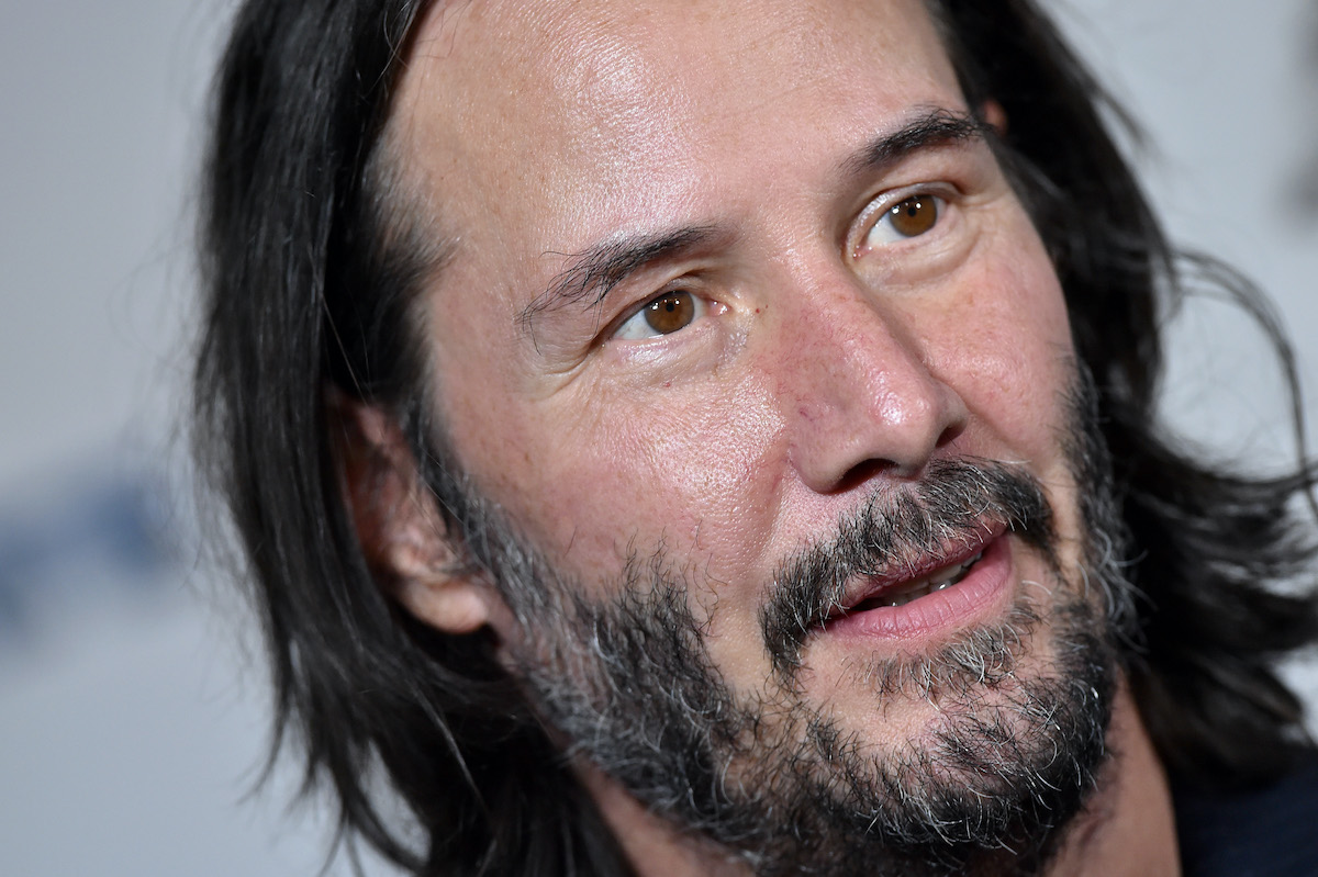 Keanu Reeves at a 'Semper Fi' screening