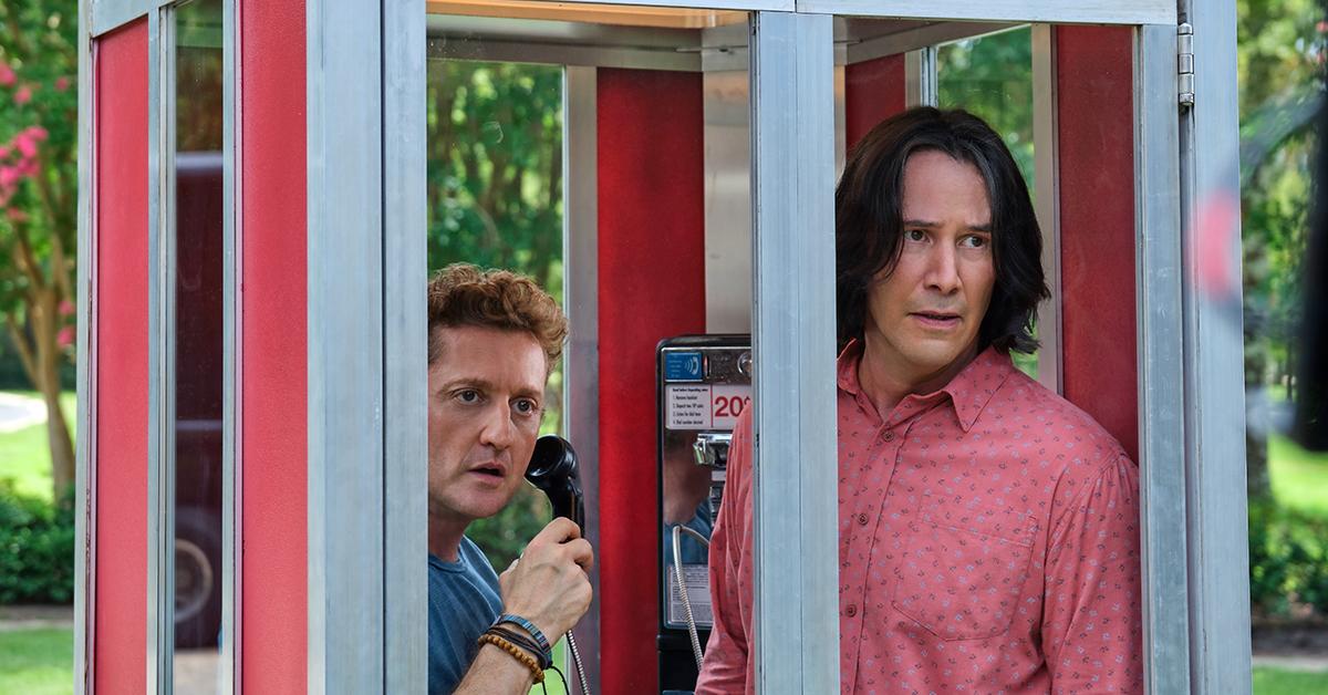 Keanu Reeves and Alex Winter