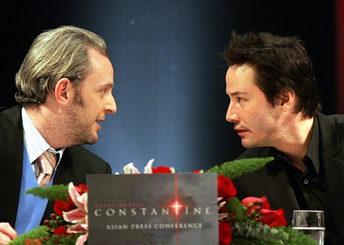 Keanu Reeves and Francis Lawrence