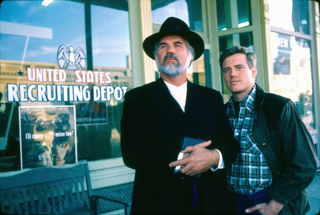 Kenny Rogers in the CBS television movie 'Coward of the County' in 1981. | CBS Photo Archive/Getty Images