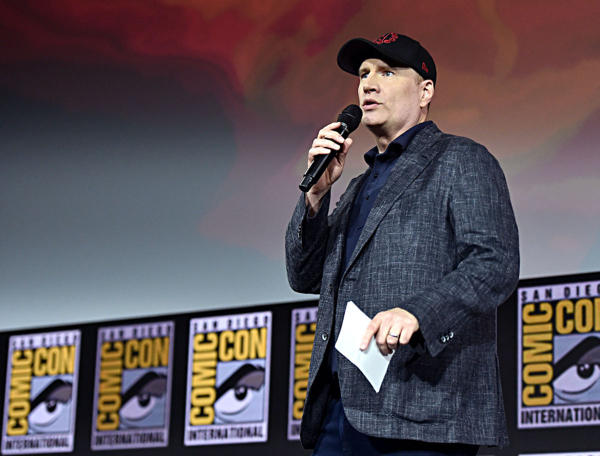 Kevin Feige at the San Diego Comic-Con