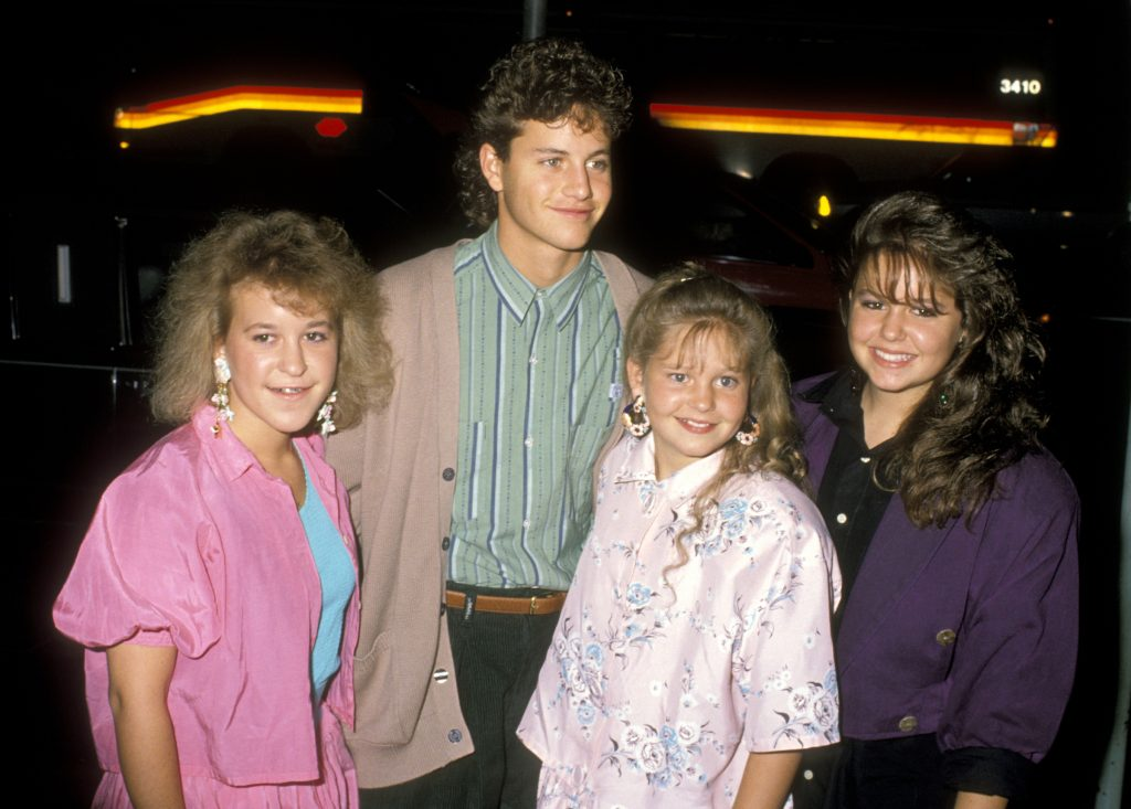 Actor Kirk Cameron, Actress Candace Cameron, and Sisters Bridgette Cameron and Melissa Cameron