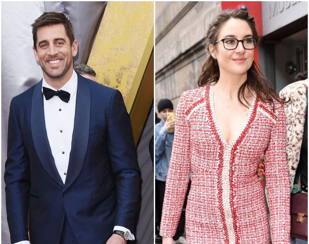 What Is The Age Difference Between Aaron Rodgers And His Rumored Girlfriend Shailene Woodley
