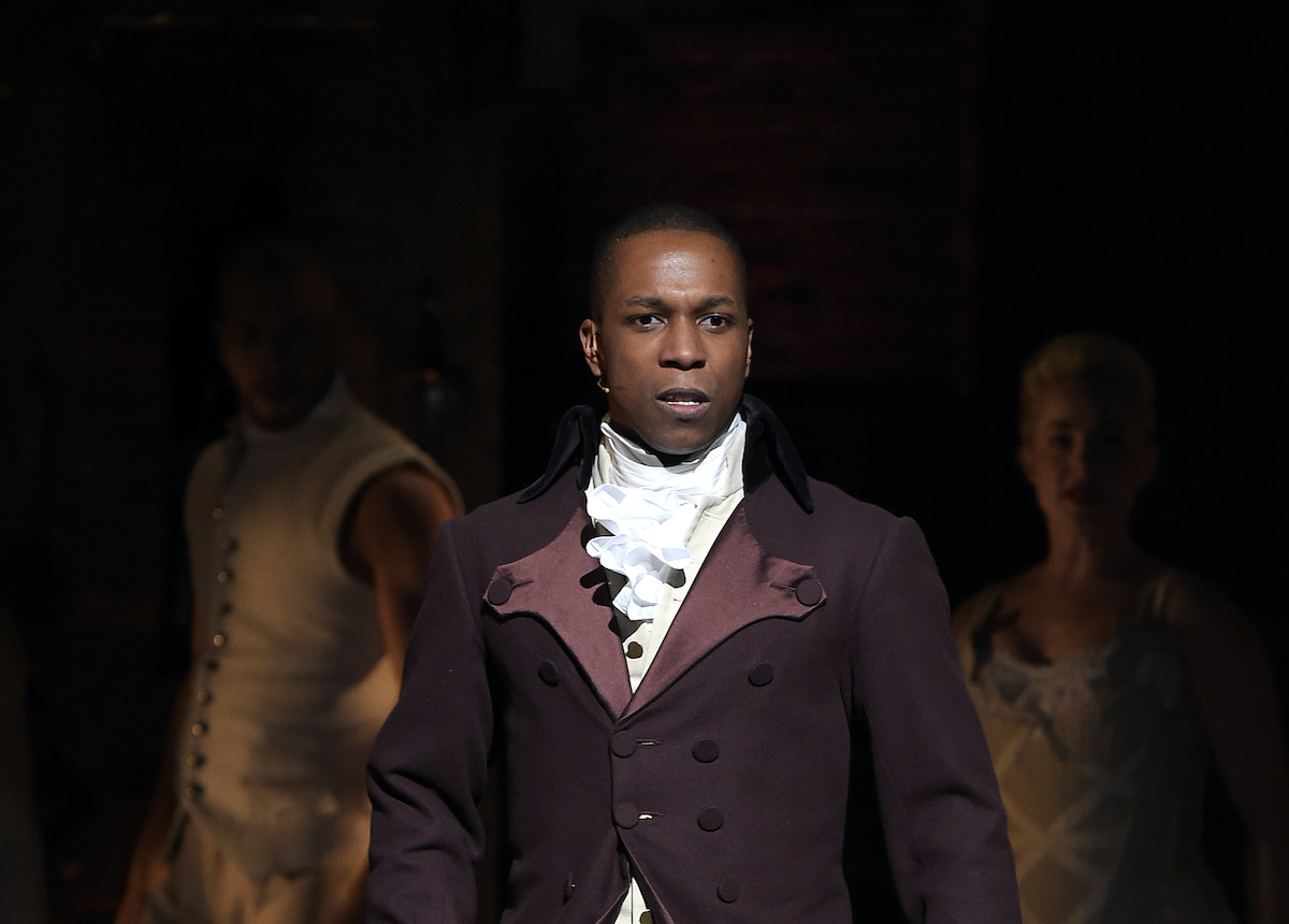 Leslie Odom Jr. performs onstage at The 58th GRAMMY Awards