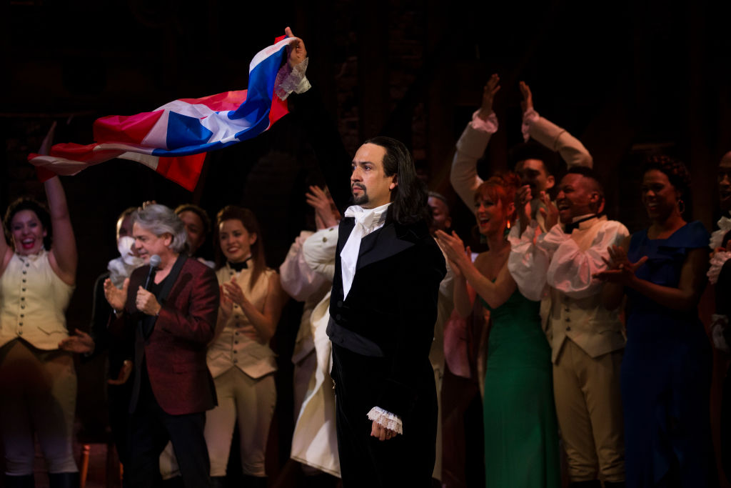 Lin-Manuel Miranda  of the award-winning Broadway musical, 'Hamilton'