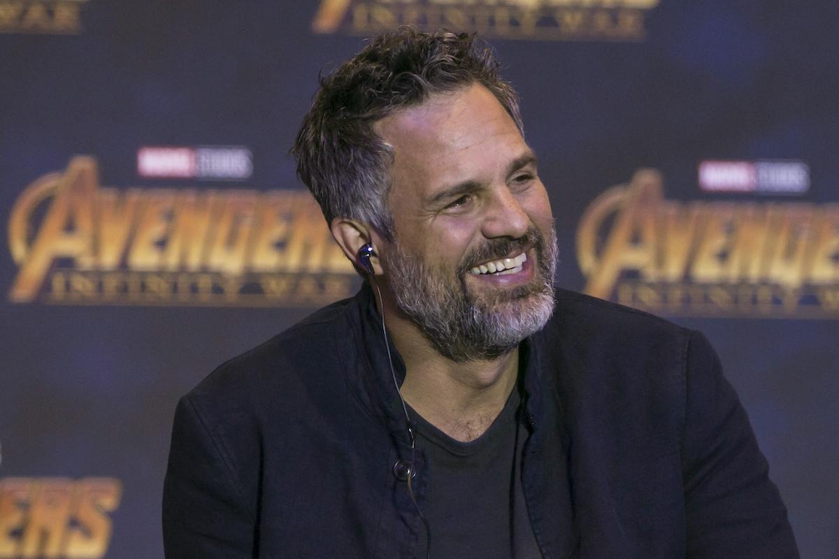 Mark Ruffalo at an 'Avengers: Infinity War' press conference