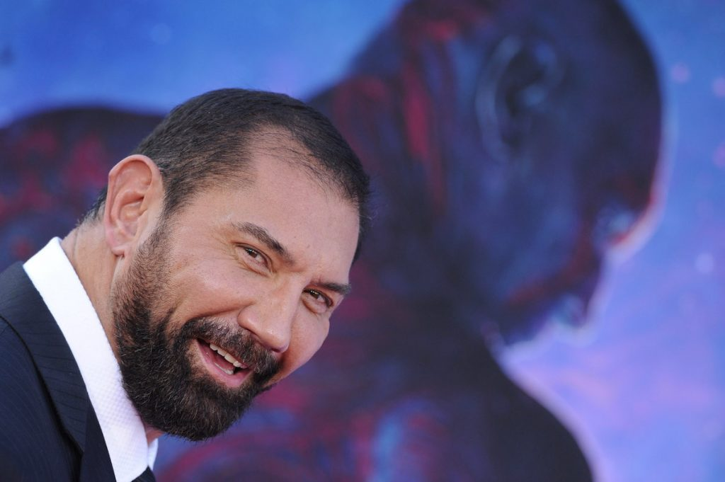 Dave Bautista at Marvel event