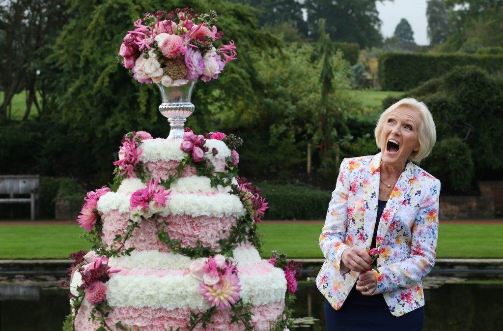 Mary Berry of The Great British Baking Show