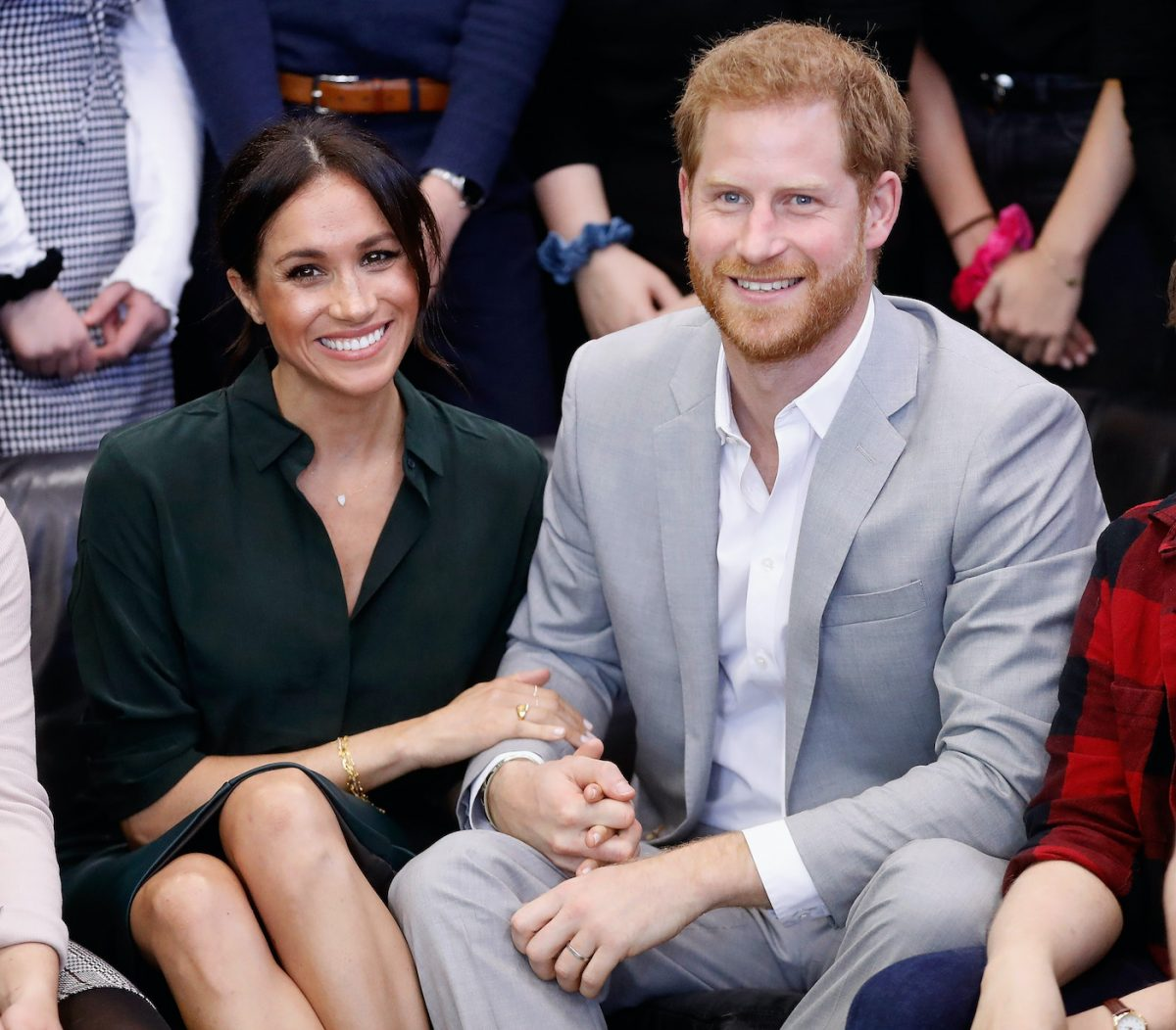 Meghan Markle and Prince Harry visit a youth center in Sussex