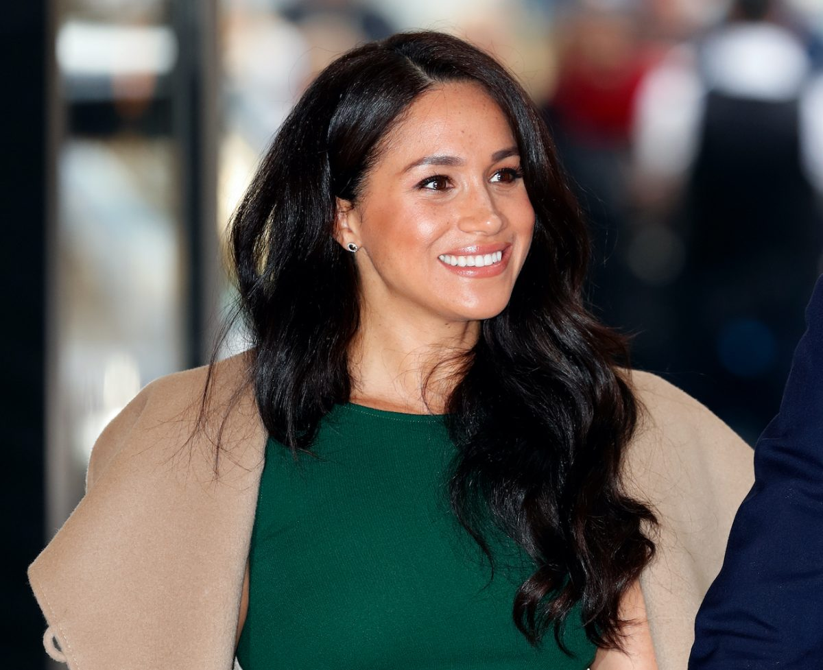 Meghan Markle at the WellChild Awards in 2019