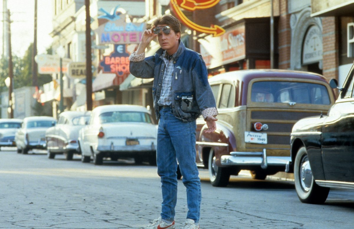 Michael J. Fox in 'Back to the Future'