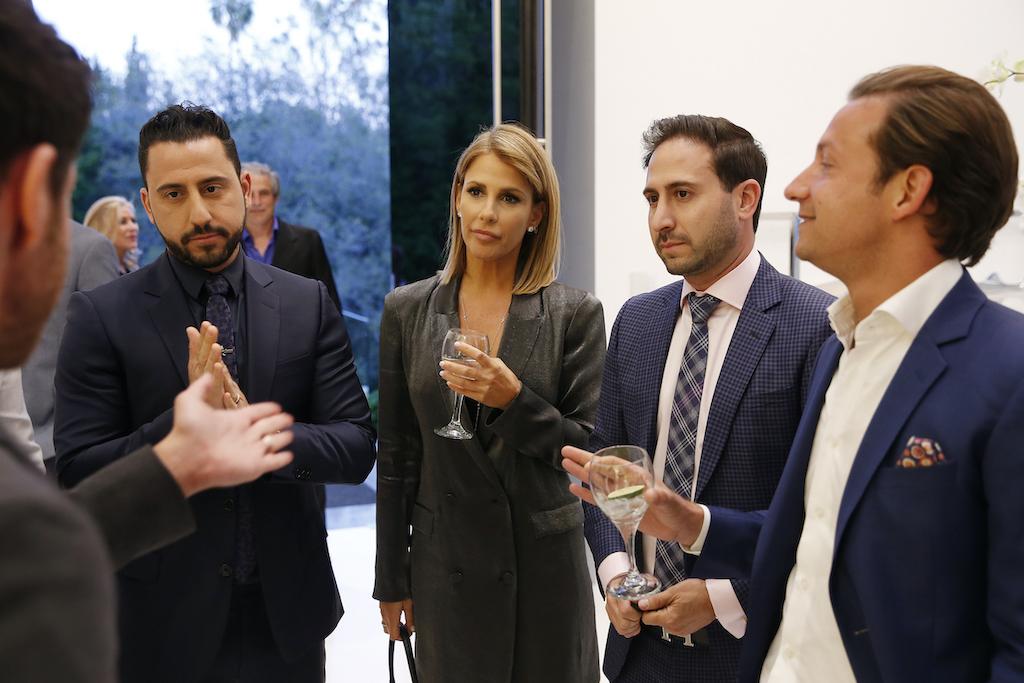 Josh Altman, Tracy Maltas, James Harris from 'Million Dollar Listing LA'