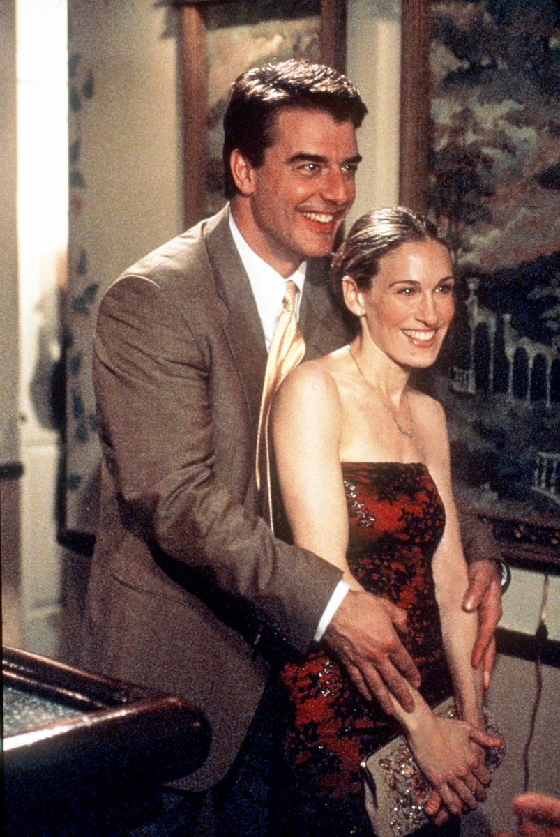Chris Noth and Sarah Jessica Parker appear in 'Sex and the City'