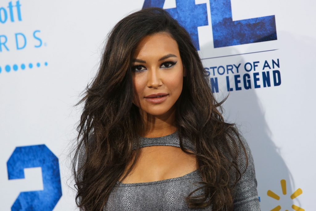 Naya Rivera attends the premiere of Warner Bros. Pictures' And Legendary Pictures' '42' at TCL Chinese Theatre in 2013 | Imeh Akpanudosen/Getty Images