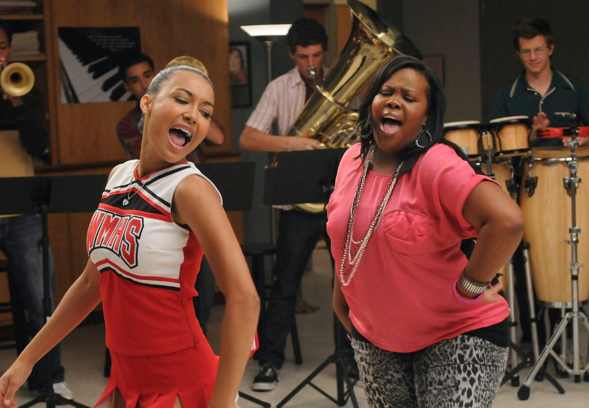 Naya Rivera and Amber Riley in 'Glee' Season 2