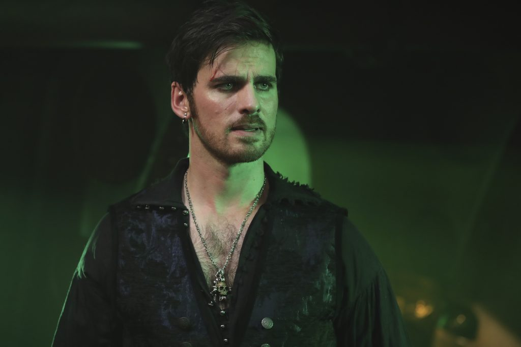Colin O'Donoghue as Captain Hook in 'Once Upon a Time'