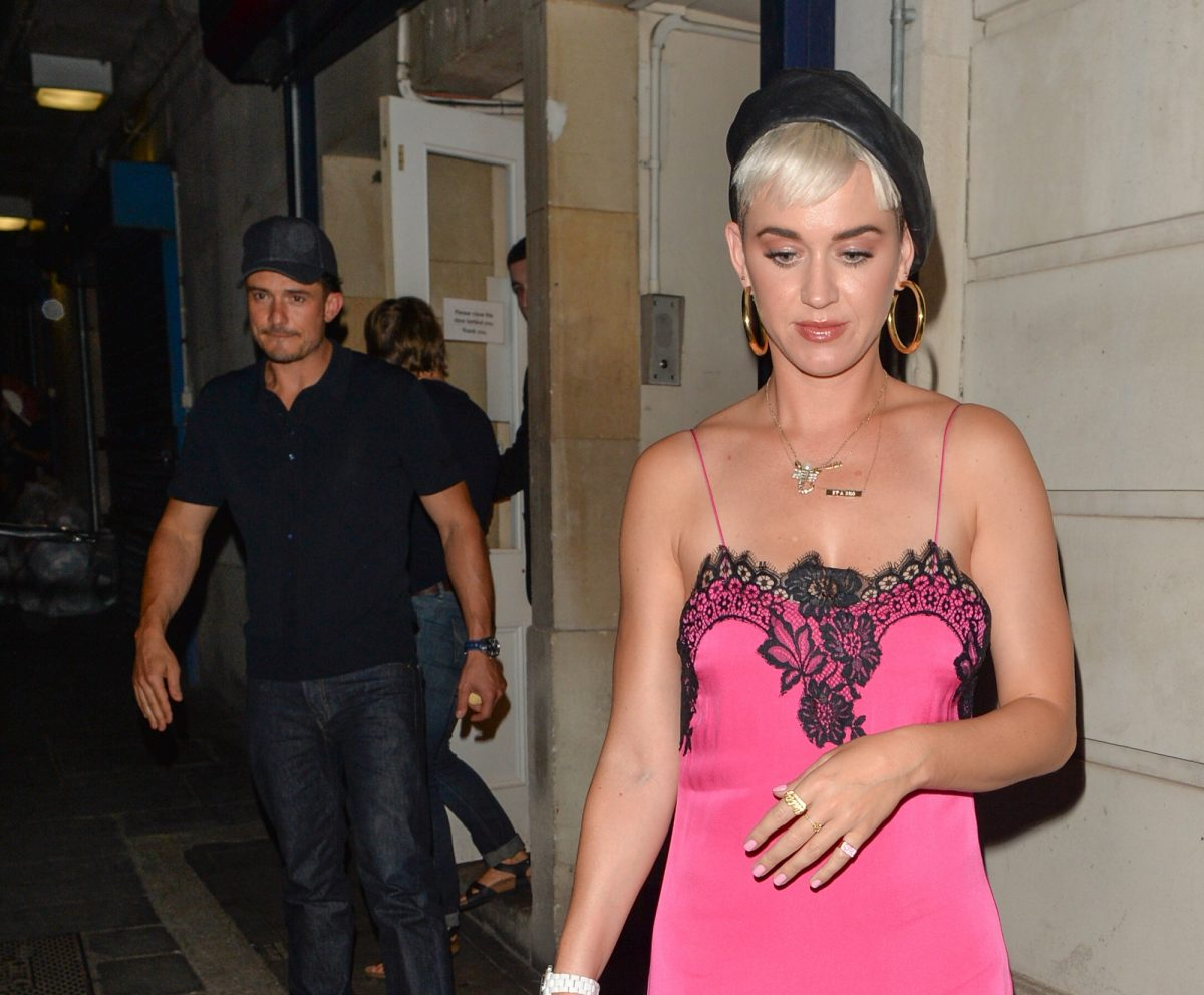 Orlando Bloom and Katy Perry in London