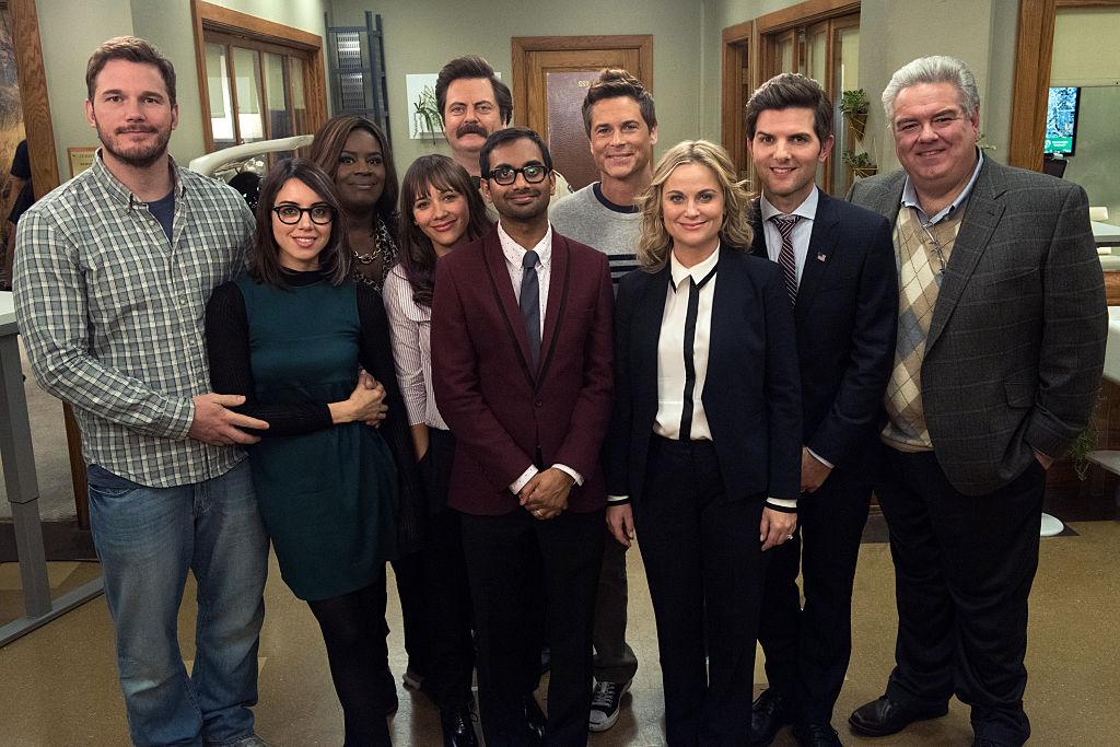 Parks and Recreation Season 7 cast