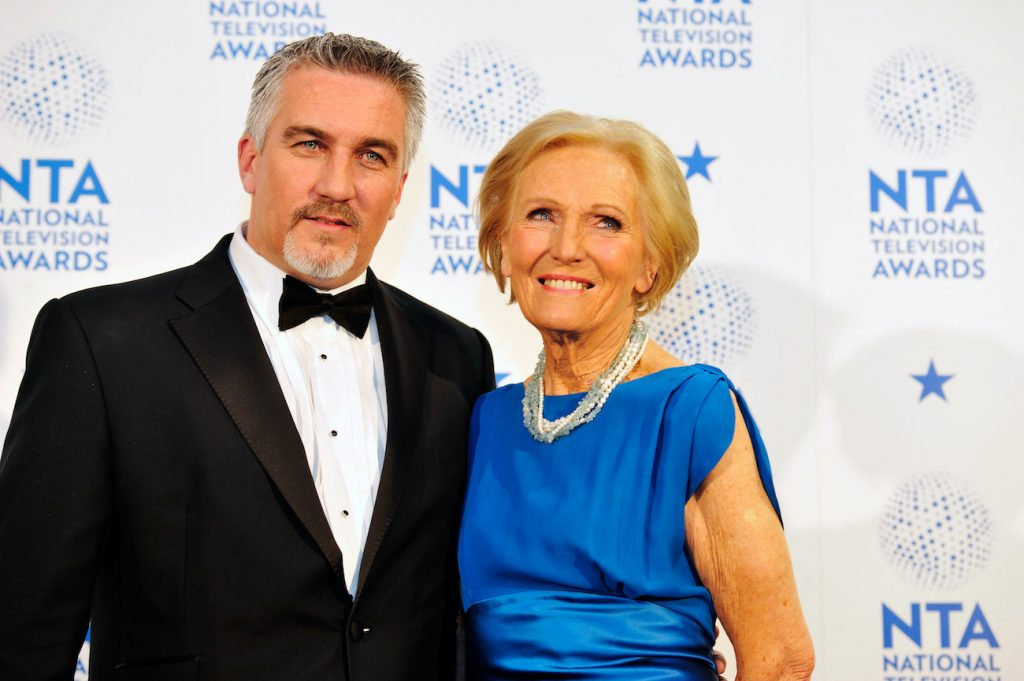 Paul Hollywood and Mary Berry of The Great British Baking Show