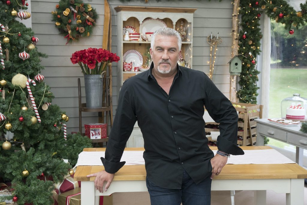 Paul Hollywood of The Great British Baking Show
