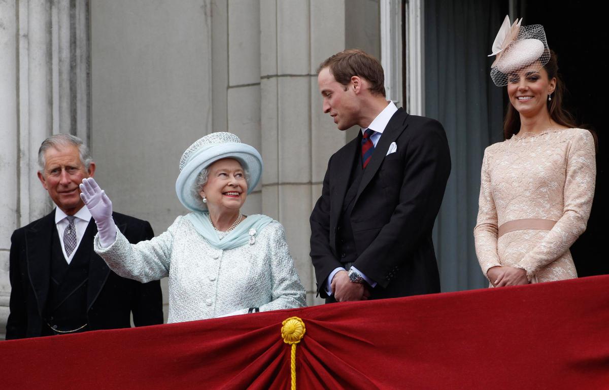 Prince Charles Queen Elizabeth Prince William