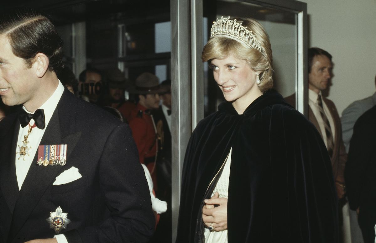 Prince Charles and Princess Diana in Canada