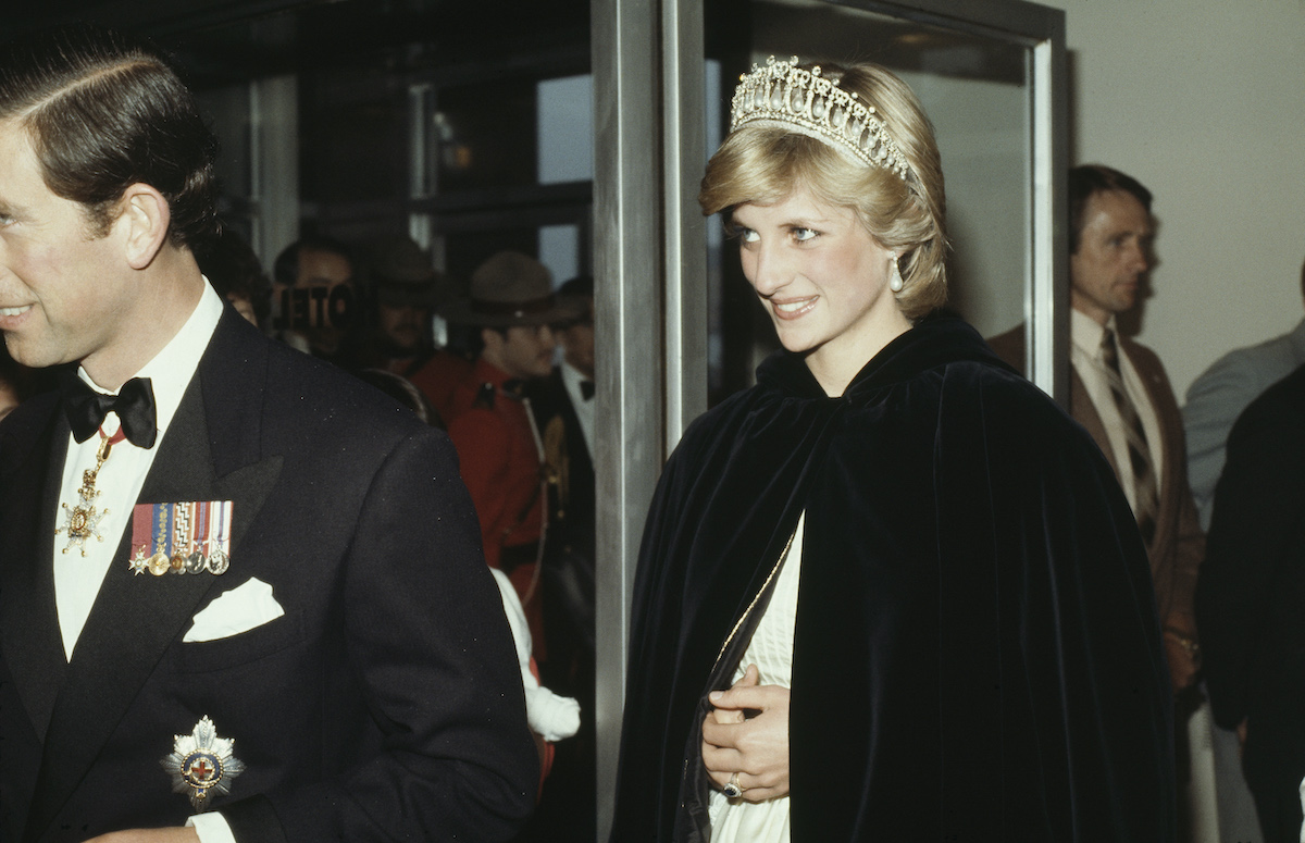Prince Charles and Princess Diana in Canada