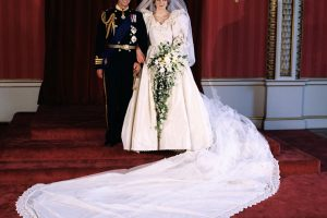 How Princess Diana Made Royal History With Record-Breaking Wedding Dress