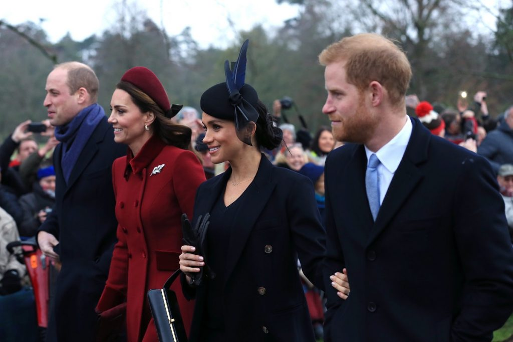 Prince William , Kate Middleton, Meghan Markle, and Prince Harry