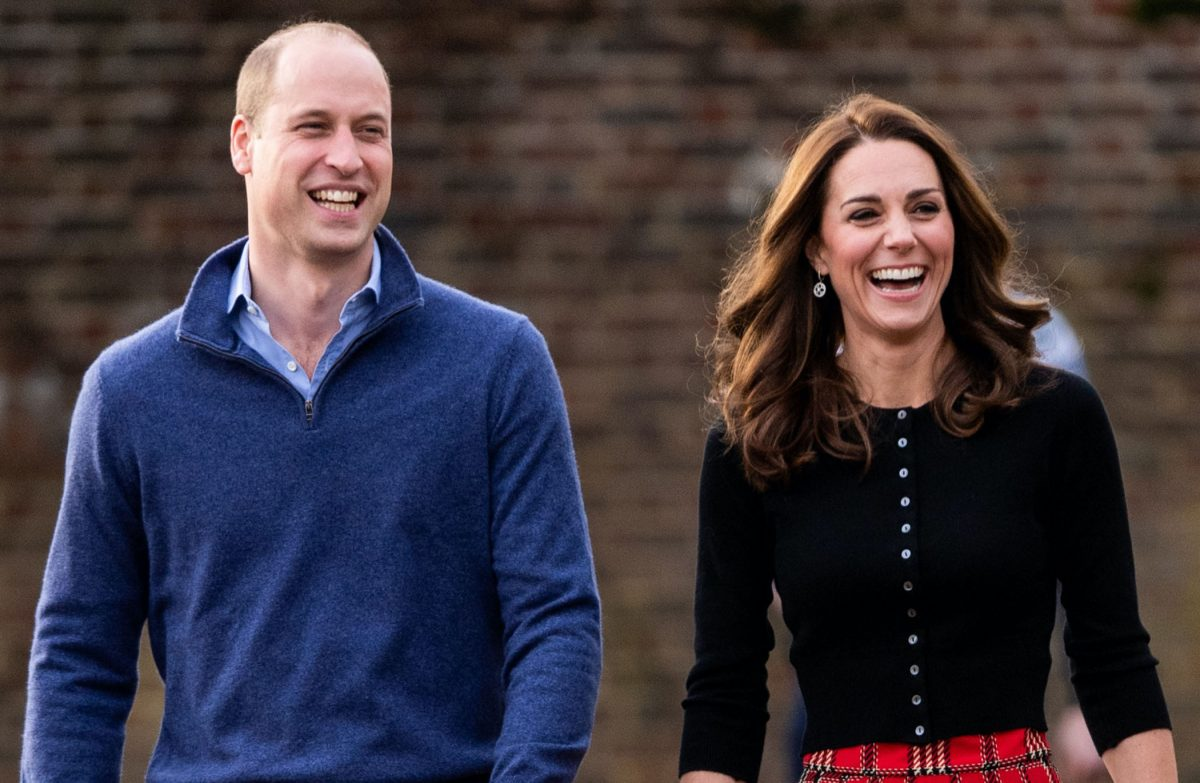 Prince William and Kate Middleton smiling