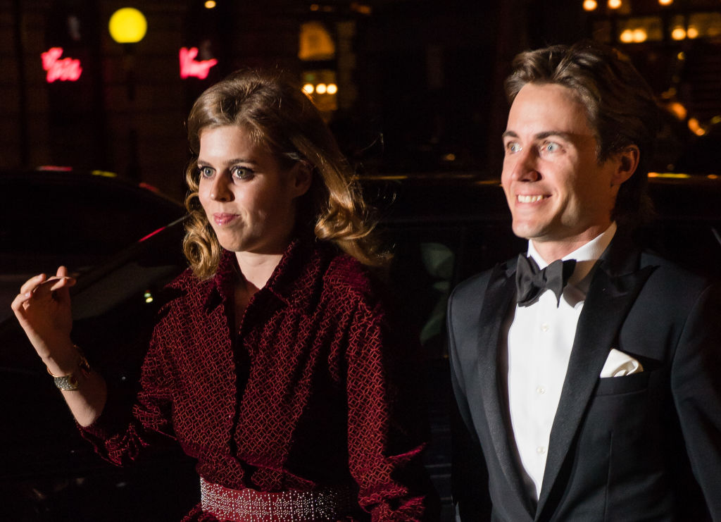 Princess Beatrice and her new husband