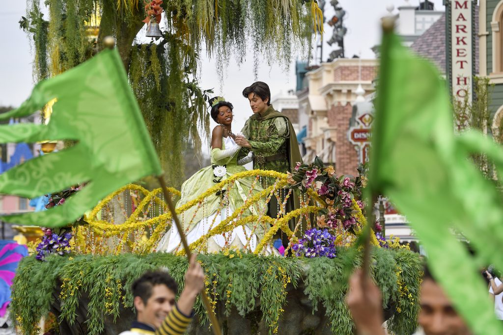 Tiana and Prince Naveen from Princess and the Frog