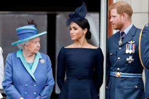 Queen Elizabeth Fears She May Never See Archie Again Amid The 'Escalating Row' With Meghan and Harry Claims Expert