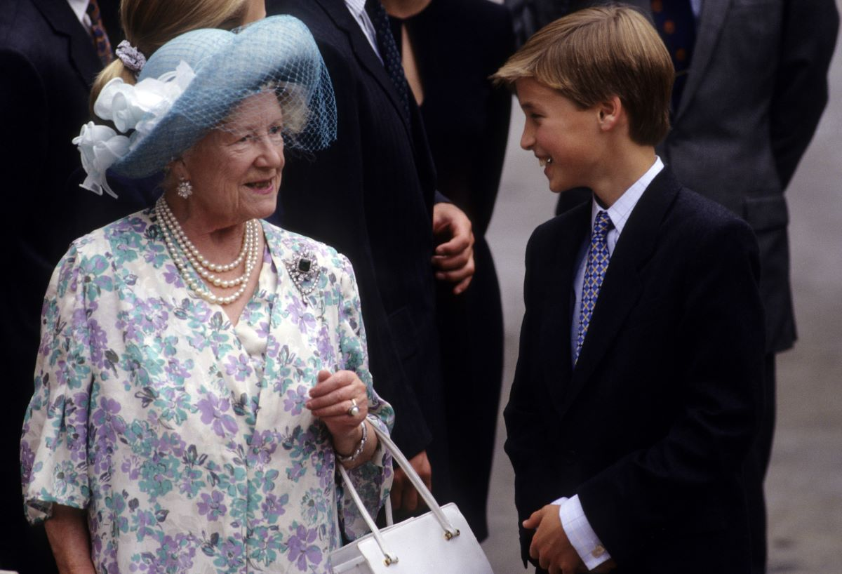 The Queen Mother and Prince William