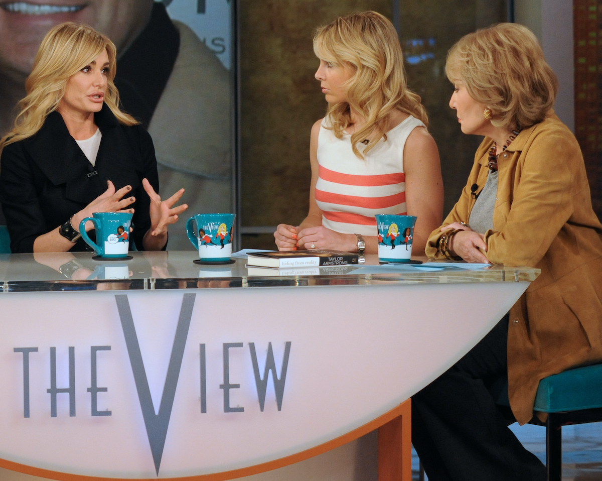 Taylor Armstrong  from 'RHOBH' appears on 'The View'